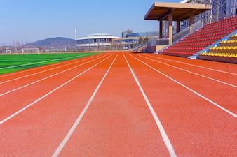 Field sky race sports win healthy