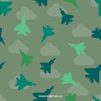 Fighter planes pattern