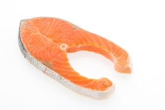Fillet of fresh salmon