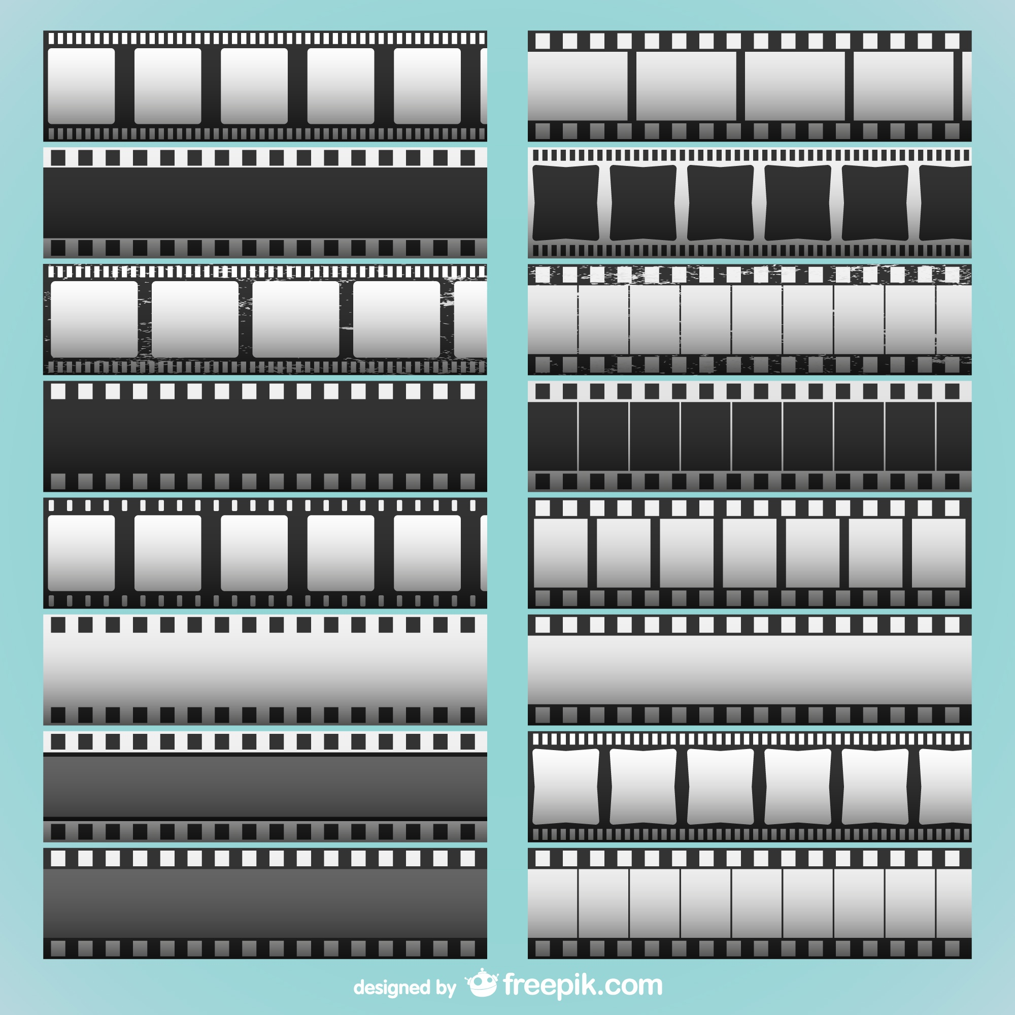 Film strips collection