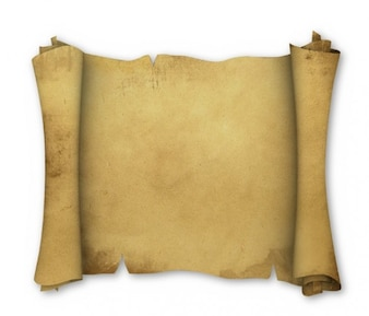 fine ancient leather scroll background psd