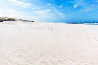 Fine sandy beach