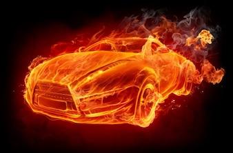 Fire night travel speed fast