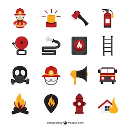 Fire vector icons free download