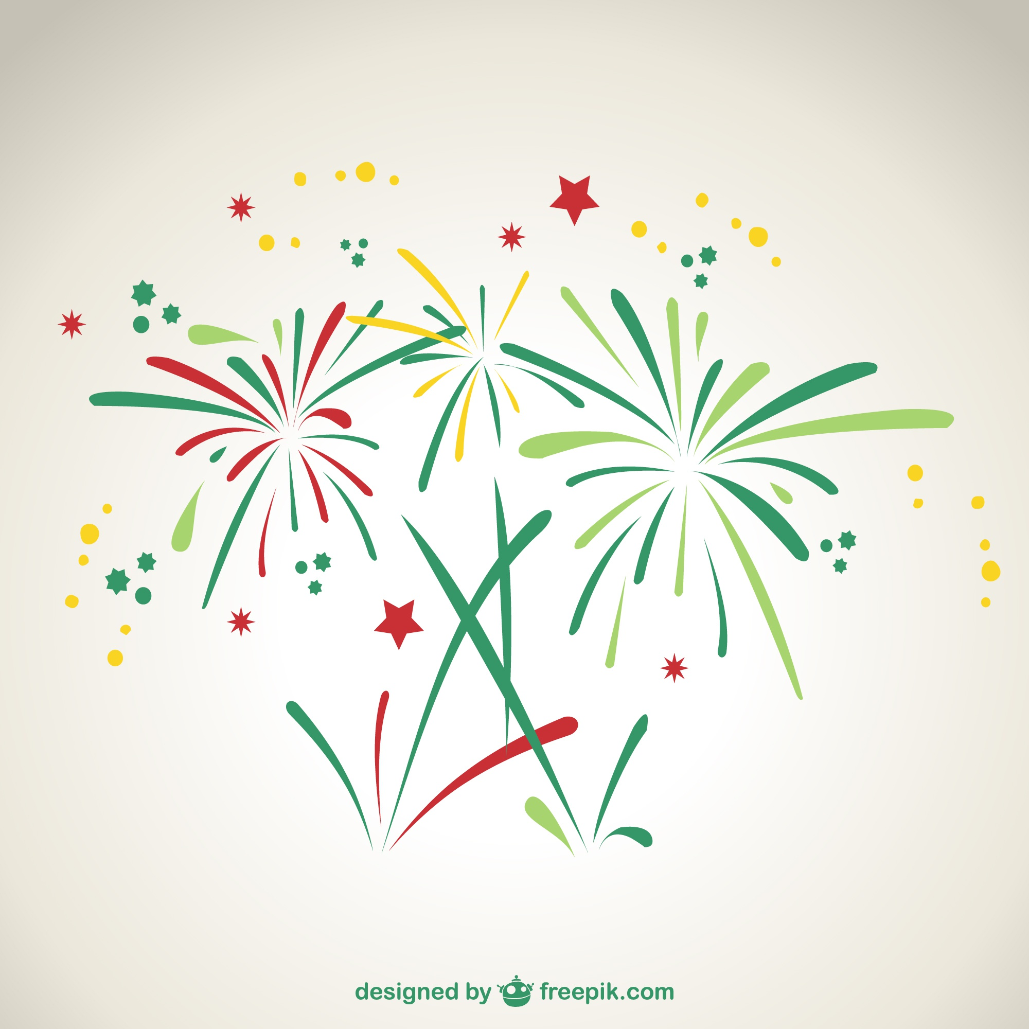 Fireworks vector art