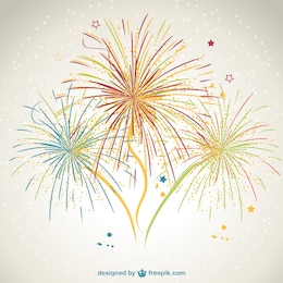 Fireworks vector design