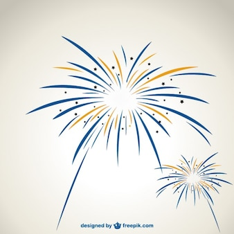 Fireworks vector graphics