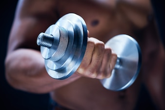 Fit metal athletic weights fist