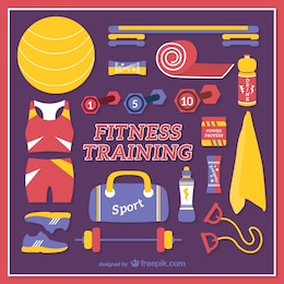Fitness training elements