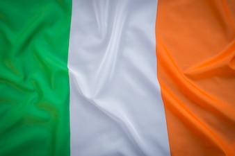 Flags of Republic of Ireland .