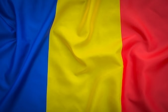 Flags of  Romania .