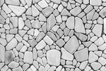 Floor texture of uniform stones