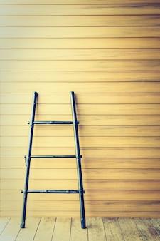 Floor wall wooden stair pattern