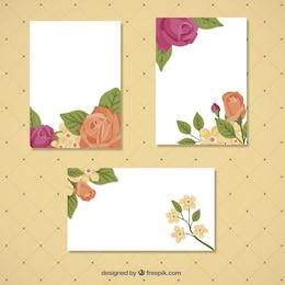 Floral card