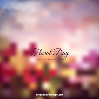 Floral day background