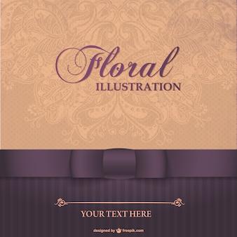 Floral elegant card design