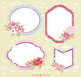 Floral frames free for download