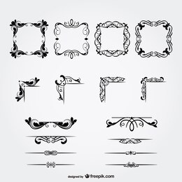 Floral free decorative graphics