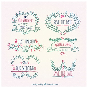 Floral ornaments for wedding