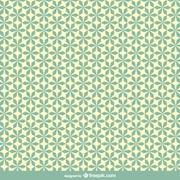 Floral style retro pattern