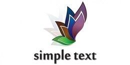 Flower petal logo design