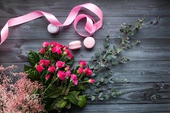 花の背景春の花の母
