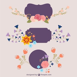 Flowers vector design download