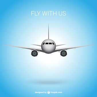Fly with us background