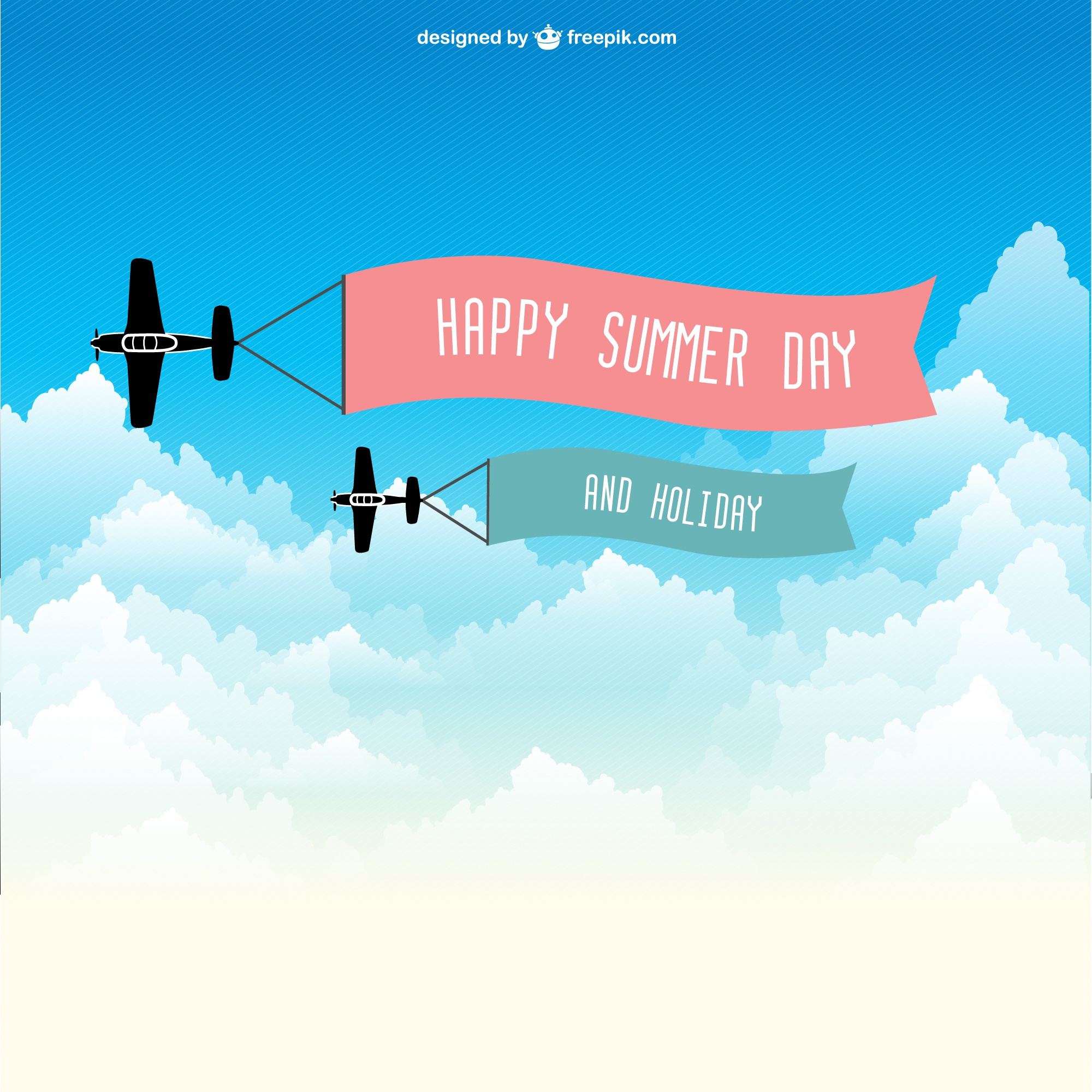 Flying ribbon vector