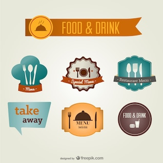 Food and drink labels