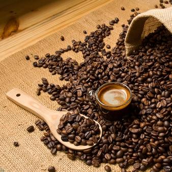 Food bean breakfast handle natural