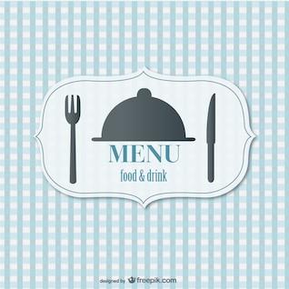 Food menu retro vector