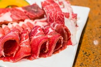 Food slice beefsteak grill bbq