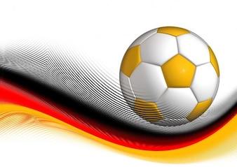 Football illustration germany sport dynamics ball