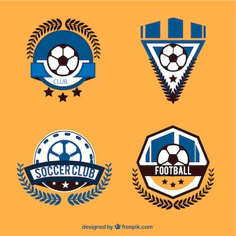 Football logos collection