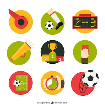 Football match icons