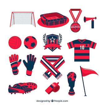Football team equipment