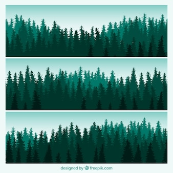 Forest banners