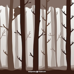 Forest trees illustration