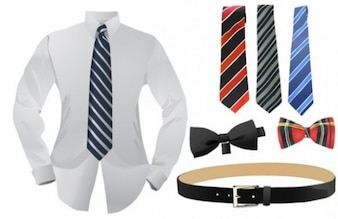 Formal menswear business attire set