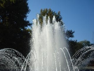 fountain in the city park