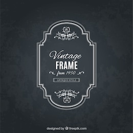 Frame in antique style