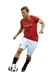 Francesco Totti , As roma Serie a