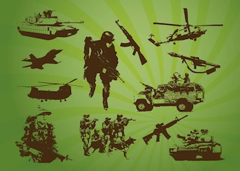 Free Army Stock Footage