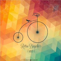 Free bicycle retro design