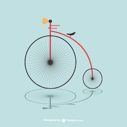 Free bicycle vector image