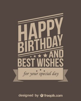 Free Birthday Greeting Card