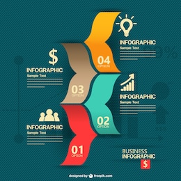 Free business concept infography