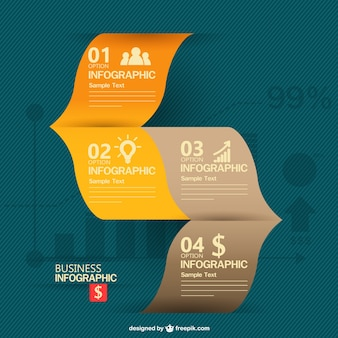 Free business information graphics design