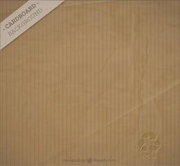 Free cardboard background vector